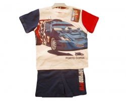 Set Cars tricou si pantaloni, baieti 1-2 ani